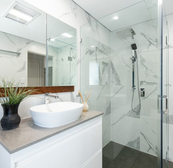 Wondrous Bathrooms Laundry Renovation In Keperra Brisbane Mint Interior Design Ideas Oteneahmetsinanyavuzinfo